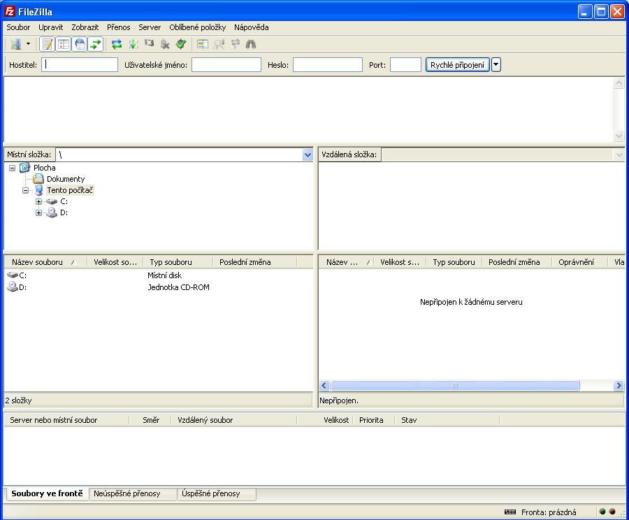 FileZilla [Oddělení datových úložišť CESNET]